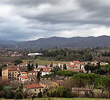 Arezzo From Above by savage1