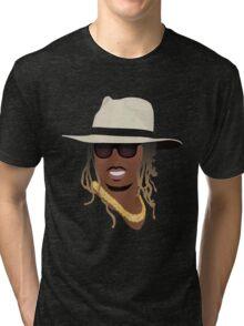 Hip Hop Portrait 8 Tri-blend T-Shirt
