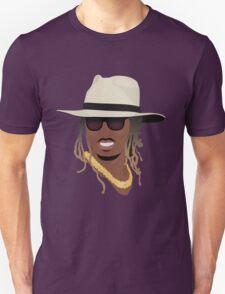 Hip Hop Portrait 8 Unisex T-Shirt