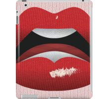 Kiss the Knit  iPad Case/Skin