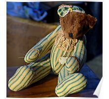 Antique Ted...Bridport Dorset, UK Poster