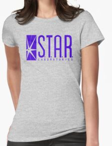 STAR Labs blue variant Womens Fitted T-Shirt