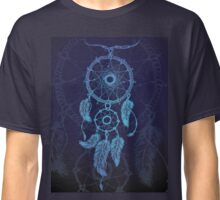 Dream catcher, feathers and beads Classic T-Shirt