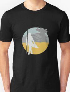 Star Wars- Rey on Jakku T-Shirt