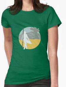Star Wars- Rey on Jakku Womens Fitted T-Shirt
