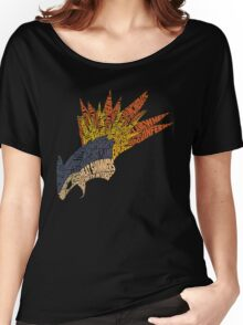 Pokemon - Typhlosion - Typography Women's Relaxed Fit T-Shirt