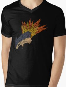 Pokemon - Typhlosion - Typography Mens V-Neck T-Shirt