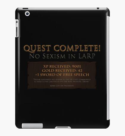 Quest Complete! iPad Case/Skin