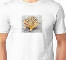Chipmunk Stare Down Unisex T-Shirt