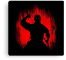 Ninja / Samurai Warrior Canvas Print