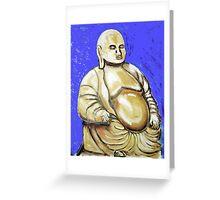 Brass Budha Greeting Card
