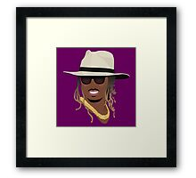 Hip Hop Portrait 8 Framed Print