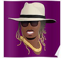 Hip Hop Portrait 8 Poster
