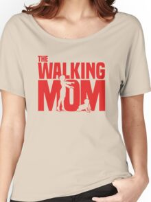 The walking Mom Women's Relaxed Fit T-Shirt