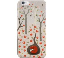 Sleeping Fox iPhone Case/Skin