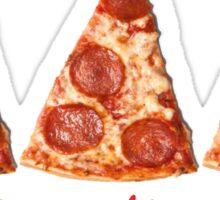 Tri Delta Pizza  Sticker