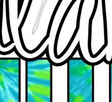 Tulane Hillel Tie Dye Sticker