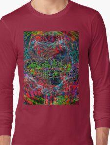 Abstract Animal Collective  Long Sleeve T-Shirt