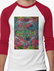 Abstract Animal Collective  Men's Baseball ¾ T-Shirt