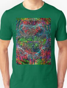Abstract Animal Collective  Unisex T-Shirt