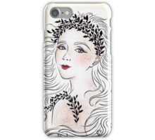 Silver and Ivory iPhone Case/Skin