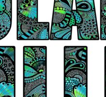Tulane Hillel Doodle Sticker
