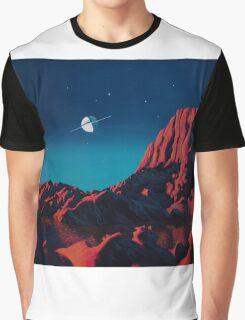 Space art landscape: Loneliness Graphic T-Shirt
