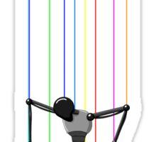 Robot Puppet Sticker