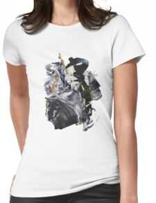 """""""Snake Bites Mounting!"""" - Big Original Wall Modern Abstract Art Painting  Womens Fitted T-Shirt"""