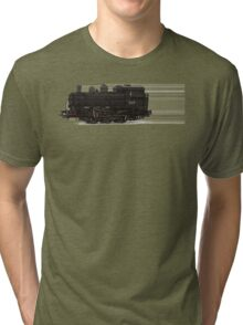train tan Tri-blend T-Shirt