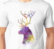 Reindeer 01 in watercolor Unisex T-Shirt
