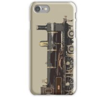 train brown iPhone Case/Skin