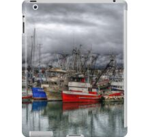 Boats In The Harbor - HDR iPad Case/Skin