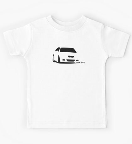 Simple E46 mid-corner Kids Tee