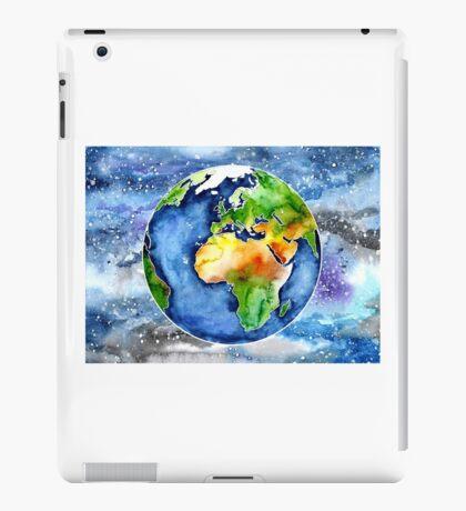Watercolour Earth iPad Case/Skin