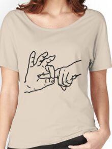 Fingerbang - Funny, erotic art, fun t-shirts, kinky drawing, popular humor Women's Relaxed Fit T-Shirt