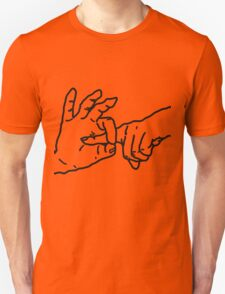 Fingerbang - Funny, erotic art, fun t-shirts, kinky drawing, popular humor T-Shirt