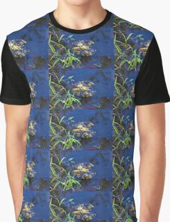 Evening Encloses The Aging Lily Pad Graphic T-Shirt