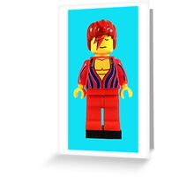 RIP David Bowie Greeting Card