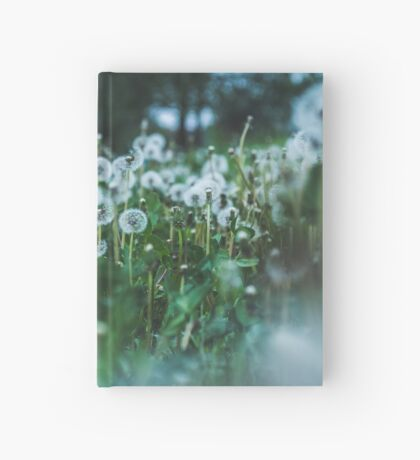 dusky dandelions Hardcover Journal