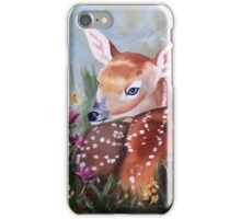 Fawn Innocence Original Oil Painting iPhone Case/Skin