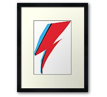 David Bowie / Ziggy Stardust Makeup Framed Print