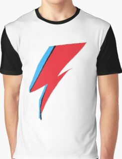 David Bowie / Ziggy Stardust Makeup Graphic T-Shirt