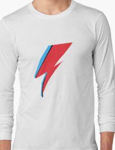 David Bowie / Ziggy Stardust Makeup Long Sleeve T-Shirt