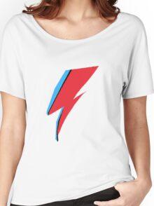 David Bowie / Ziggy Stardust Makeup Women's Relaxed Fit T-Shirt