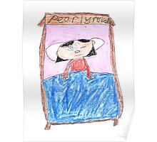 OG Annoyed Sleeping girl - ABC '14 Poster