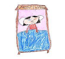 OG Annoyed Sleeping girl - ABC '14 Photographic Print