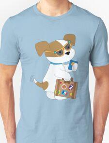 Cute Puppy Travel T-Shirt