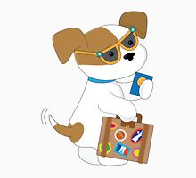 Cute Puppy Travel Unisex T-Shirt