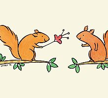 Tickle Tickle Little Squirrel by Zoe Lathey